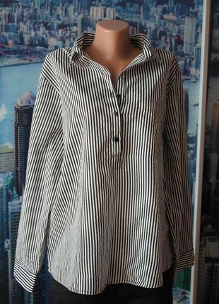 Блуза полоски 100 % котон