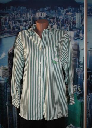 Блуза 100 % котон оверсайз 8-10 размер