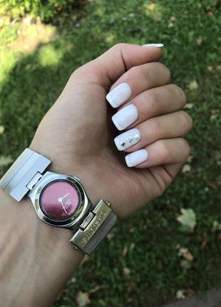 Женские наручные часы swatch металлический браслет