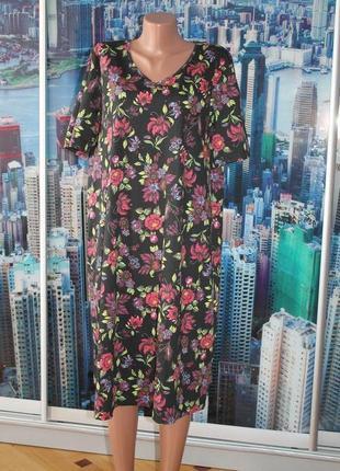 Платье 100 % котон 50-52-54 размер