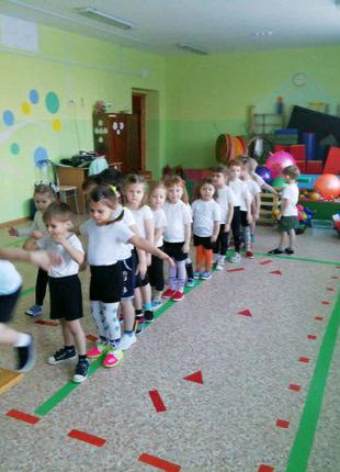Уроки физкультуры в детском саду