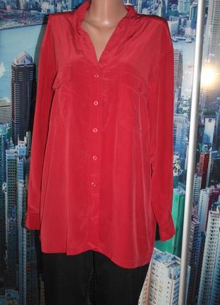 Блуза 100 % шелк sandra zin
