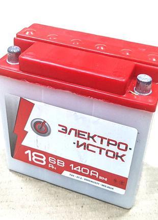 Аккумулятор кислотный, сухозаряженный 6V 18A ИЖ ДНЕПР МТ 6 Вол...