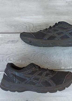 Asics мужские кроссовки сетка оригинал осень черные