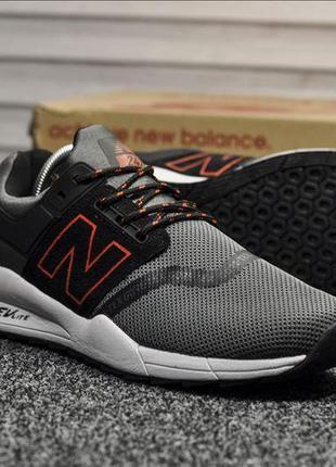 New Balance 247 (черно/красные)