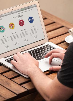Создание сайтов визиток, хостинг, создать сайт, купить сайт