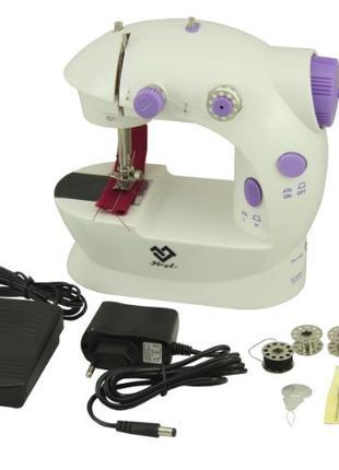 Настольная, компактная Швейная Швейная машинка Sewing machine 202