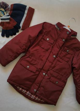 Фирменная детская новая куртка парка демисезон зима soulcal ор...