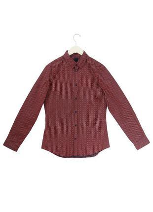 Рубашка easy iron slim fit h&m