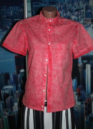 Блуза рубашка джинс