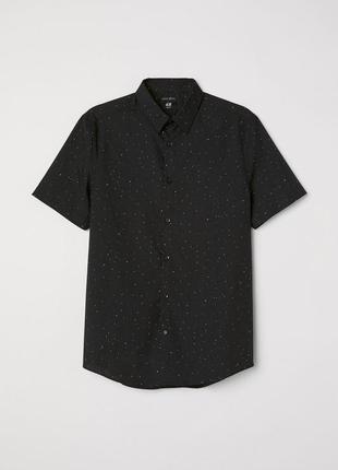 Рубашка slim fit h&m