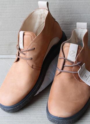 Ботинки ecco crepetray 200333 натуральний нубук оригінал