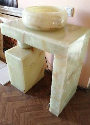 Рукомойник из натурального камня