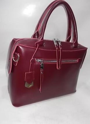 Женская кожаная сумка жіноча шкіряна а4