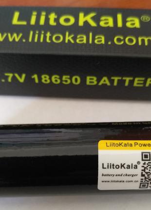 Аккумулятор 18650 LiitoKala 3500mAh Lii-35A