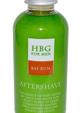 HBG, Bay Rum, лосьон после бритья, лавровишневая вода, 120 мл