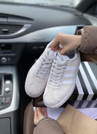 Кроссовки Adidas Gazelle Gray