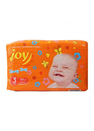 Подгузники Joy Every Day 3,4,5