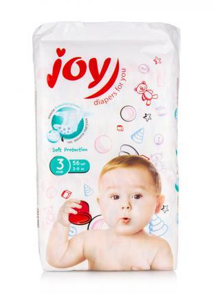 Подгузники Joy Soft Protection 3,4,5