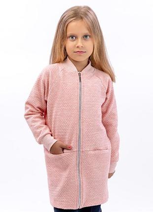 Кардиган для девочки, розовый