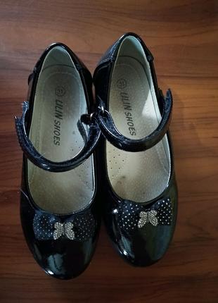 Туфельки на девочку 19.5см