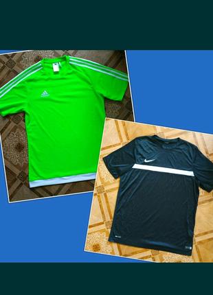 Тренировочная футболка Nike dri-fit, Adidas  оригинал