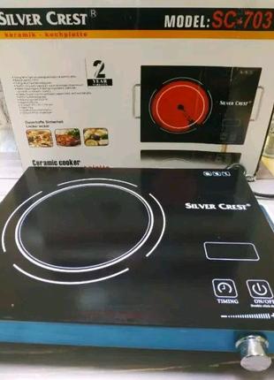 Керамическая инфракрасная плита настольная кухонная электроплита