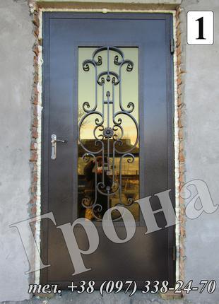 Двери входные металлические бронированные в дом или офис