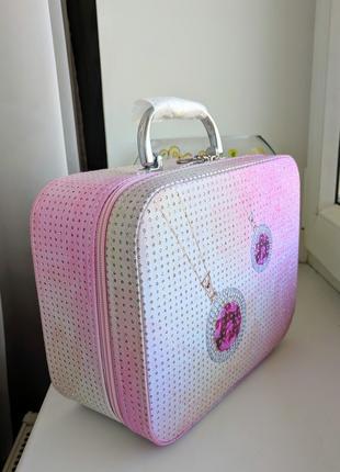 Сумка чемоданчик для украшений косметики