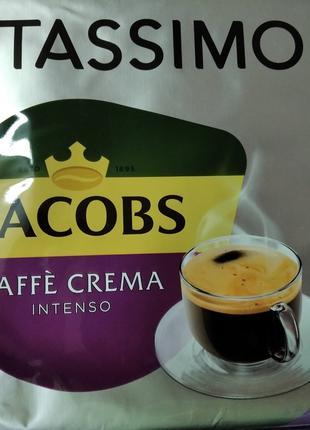 Капсулы Tassimo Jacobs Cafe-crema для кофе-машины Big Pack 24х