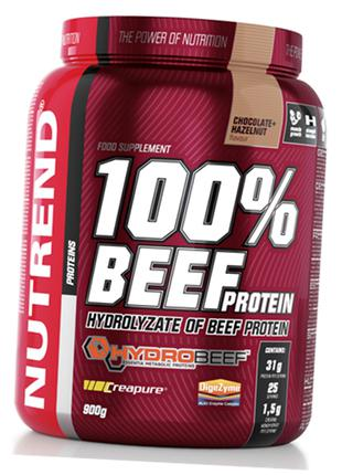 100% Beef Protein (900 г) NUTREND Протеин для спортивного питания