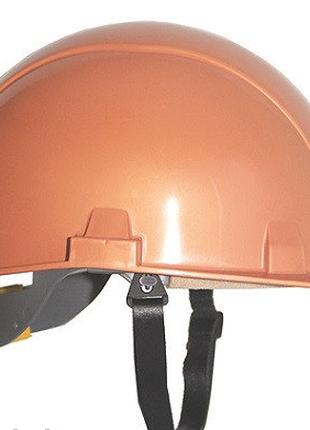 Каска защитная термостойкая оранжевая