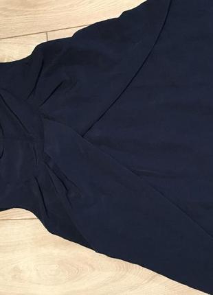 H&M платье сарафан для беременных синее легкое воздушное модное