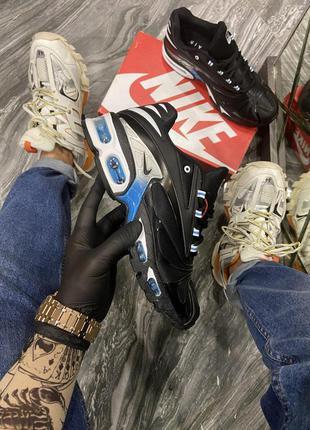 Мужские кроссовки 🔺nike air max tn plus black blue🔺