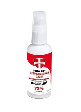 Антисептик MDA-72+ 60мл спрей ( сертифицированный)