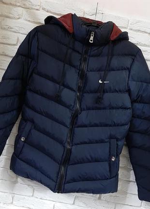 Дутая куртка nike😍