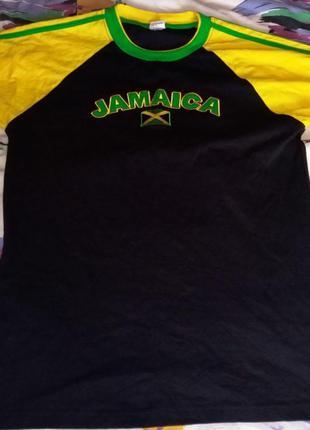 Котоновая футболка islands tees jamaica