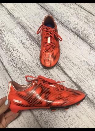 Крутые кроссовки для футбола кеды бутсы копы adidas размер 38(...