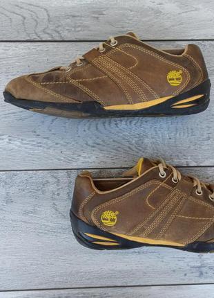 Timberland мужские кожаные кроссовки оригинал