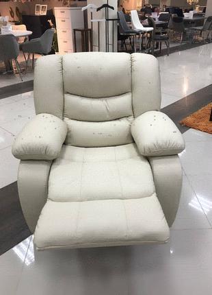 Шкіряне крісло реклайнер Regan. Кожаное кресло реклайнер Regan.