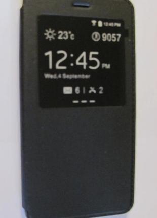 Чехол с окошком для Xiaomi Redmi Note2