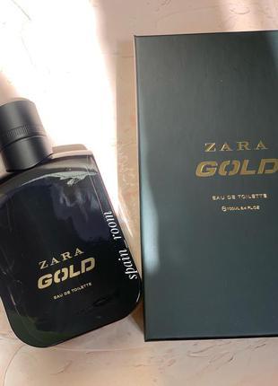 Мужские духи zara gold /парфюм /туалетная вода /парфуми