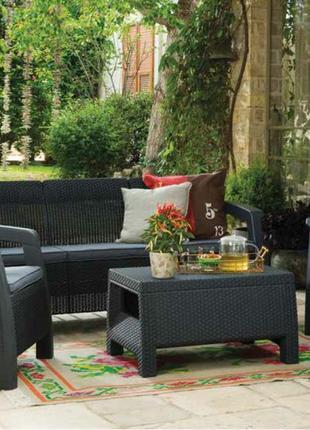 Комплект садовой мебели Keter Bahamas Triple Set