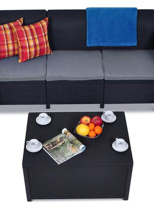 Комплект садовой мебели Keter Corfu Box Max Set