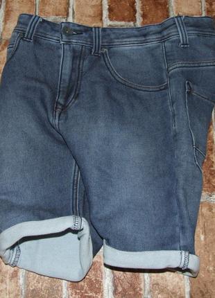 Шорты джинс стрейч 14 лет