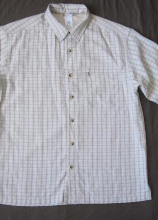 The north face (m) треккинговая рубашка мужская