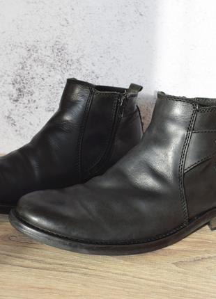 Ботинки осенние Clarks 42,5 кожаные