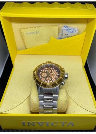 Часы- Invicta Pro Diver Chronograph Model 12372-НОВЫЕ