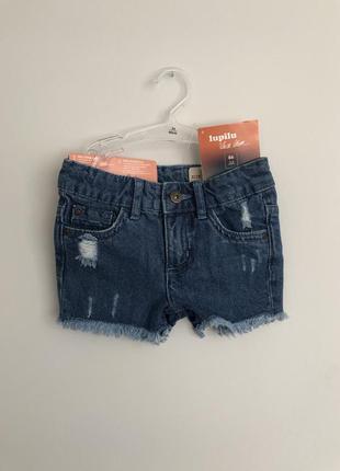Шорты джинсы lupilu