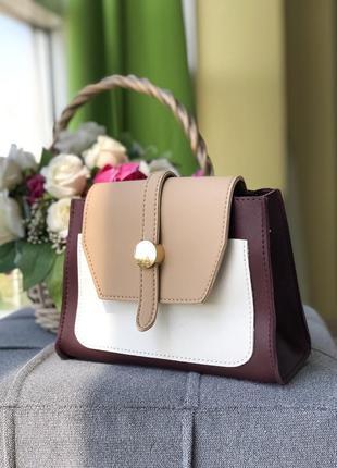 Женская сумочка сумка клатч на плечо